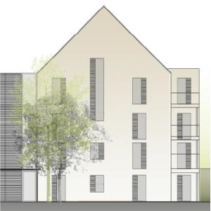 Wohnbebauung Kampstraße